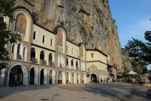 The Ostrog Monastery in Montenegro