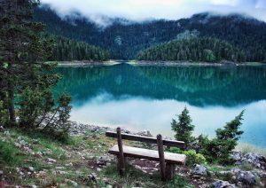A beautiful lake in Montenegro